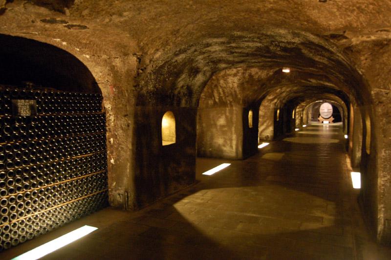 Caves de champagne d'Épernay