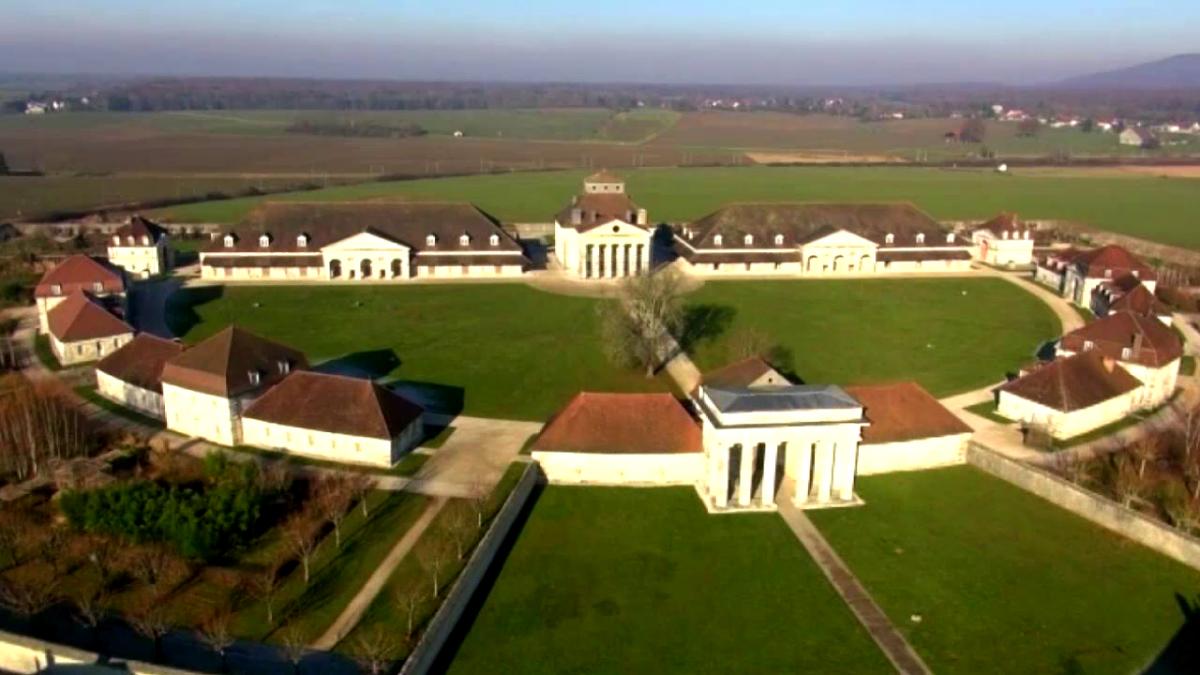 La Saline royale à Arc-et-Senans